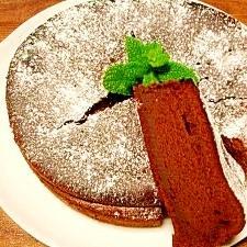 しっとり☆チョコレートケーキ