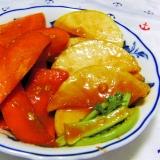 人参と大根の味噌キムチ醤油麹漬け