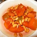 箸休めに~南瓜と水煮大豆の甘辛煮