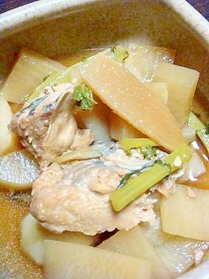 ✿圧力鍋de大根鮭缶の煮物✿