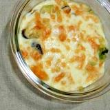 ブロッコリーとバターナッツかぼちゃのグラタン