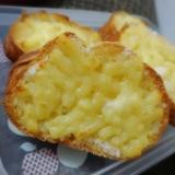 サクサク♥フランスパンでチーズシュガーラスク