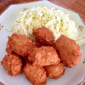 豆腐のチキンナゲット風♪