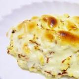 ヘルシー*簡単*ほうれん草とじゃが芋の豆腐グラタン