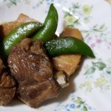 タケノコと豚肉のスペアリブ煮込み
