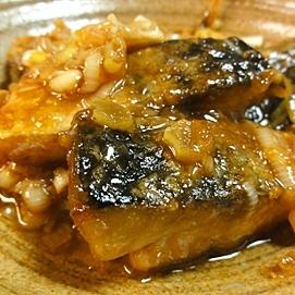 鯖のネギ醤油焼き