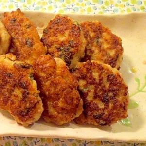 ♪大和芋と鶏挽き肉でつくね風焼き♪