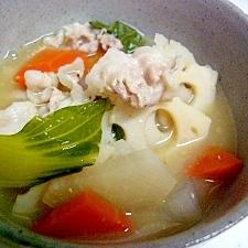 野菜たっぷり!温まる豚汁