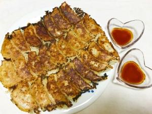 干し椎茸の旨味たっぷり白菜と長ねぎ餃子♡