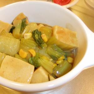 ルーで簡単♪高野豆腐のカレー煮