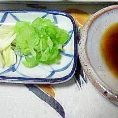 葱とニンニクで楽しむカツオのたたき