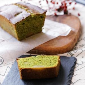 セラベイクで、しっとり濃厚 抹茶のパウンドケーキ