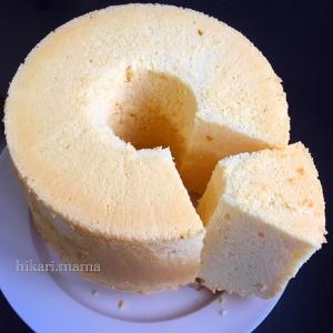 爽やか~✨国産レモンのシフォンケーキ♥