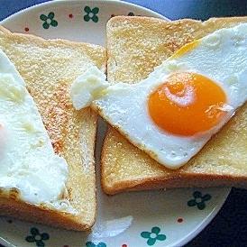 目玉焼きのせマヨたれトースト★