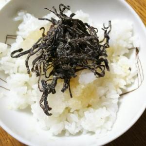 大根おろしと塩昆布のご飯