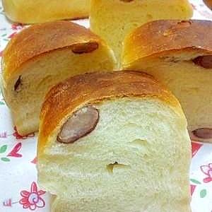 鹿の子金時入り!小さい食パン@天然酵母