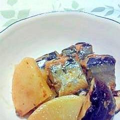 大根とサンマ缶の煮物