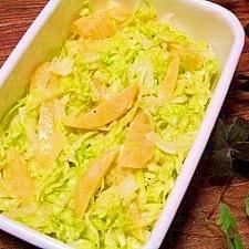 キャベツと黄桃缶☆マヨサラダ