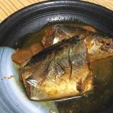 圧力鍋で骨まで食べる☆サバの味噌煮