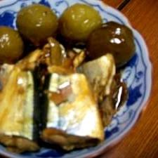 家庭で作った秋刀魚の甘露煮