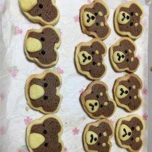 犬型アイスボックスクッキー