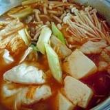 キムチ餃子鍋