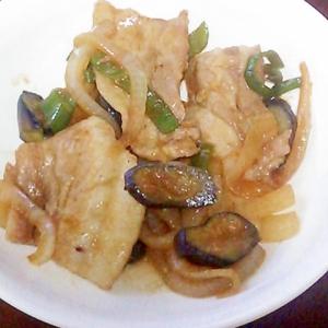 豚バラと野菜の焼き肉のタレ炒め☆