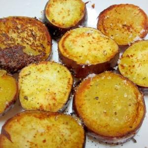 サツマイモのガーリックマヨソテー