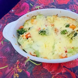 くず野菜グラタン