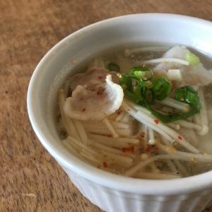 えのきと豚バラの和風スープ