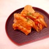 甘酢で♪大根&人参と鶏ムネの照り焼き