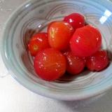 「カンタン酢」で簡単♪ミニトマトの甘酢漬け