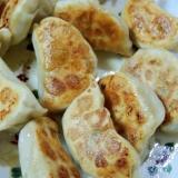 小松菜と玉ねぎのヘルシー焼き餃子☆