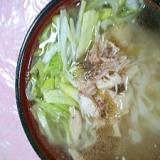 参鶏湯風カルグクス