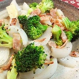 温野菜のベーコンサラダ