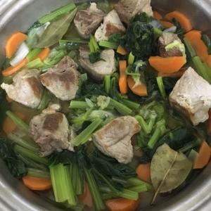 野菜たっぷり 豚肉と野菜のコンソメ煮