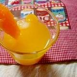 黄桃オレンジサワー