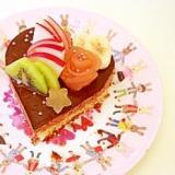 ★フルーツチョコムースケーキ★神天
