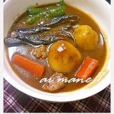 我が家の野菜スープカレー