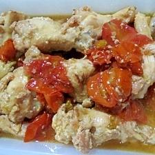 鶏手羽のトマト煮