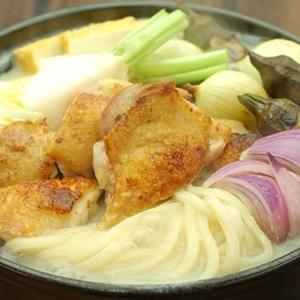 讃岐コーチン(鶏肉)の白味噌仕立てうどん鍋