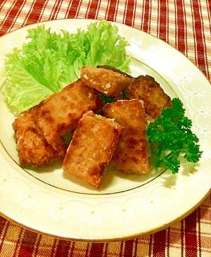 アジアの発酵食品☆テンペの唐揚げ