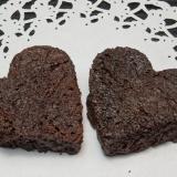 ハートのしみチョコラスクの作り方
