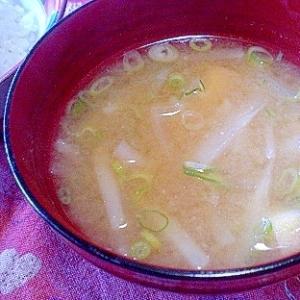 「乾燥湯葉&お揚げも入ったお味噌汁」  ♪♪