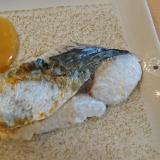 サゴシの塩焼き&白味噌ダレ