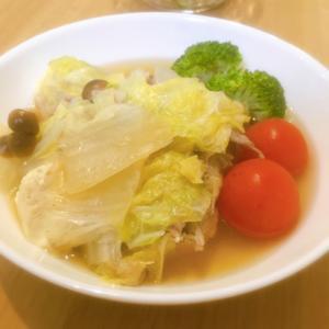 熱々ほっこり♡白菜と豚ロースのミルフィーユ鍋♪
