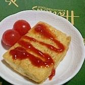 簡単♪  木綿豆腐のステーキ