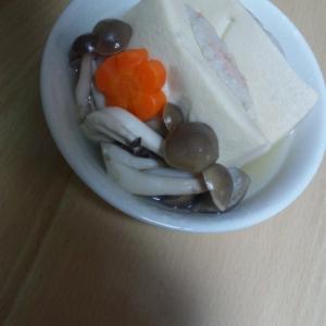 高野豆腐の白だし煮