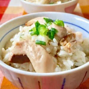 エリンギとお吸い物の素で♫松茸ご飯風炊き込みご飯