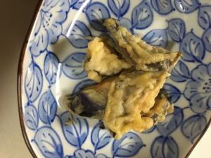 ナスの煮物で(^○^)ナスの天ぷら☆